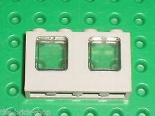 RARE Fenetre LEGO OldGray Window ref 4863 + Glass 4862 smoke/ 6494 5986 amazone
