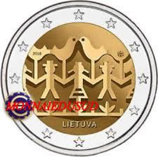 2 Euro Commémorative Lituanie 2018 - Festival de la Danse
