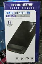 NEW!! Tzumi PocketJuice Hyper Charge POWER DELIVERY 20,000 mAh (5884)