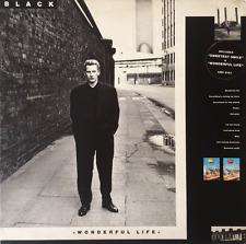 BLACK - Wonderful Life (LP) (VG-/VG-)