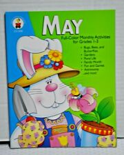 May Teacher Resource Book Full-Color Monthly Activities for Grades 1-3 New