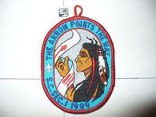 OA 1989 Area SC1,Conclave Patch,pp,W/Lp,578 Hasinai HOST,72,99,272,254,563,LA,TX