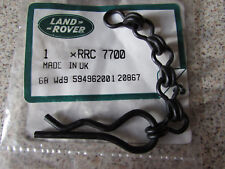 """Genuine Land Rover Military Jerrycan Stowage Locker """"R""""Clip and Chain RRC7700"""