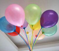 "100Pcs 7"" Mixed Color Latex Balloons Celebration Party Wedding Birthday Decor"