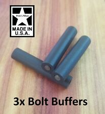 3 Viton & Stainless Bolt Recoil Buffer Pins for Ruger 10/22, KIDD, Volquartsen,