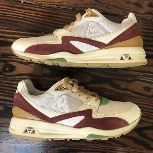 Le Coq Sportif LCS R800 Sneakerbox Hummus RARE Size 9 Worn 1x