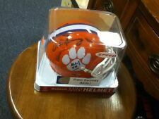Dabo Swinney~Autographed Clemson Tigers Speed Riddell mini Helmet ~COA Authentic