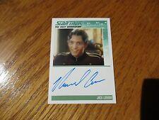 Star Trek TNG Portfolio Prints Series 2 Michael Aron as Jack London Autograph