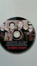 Nickelback dvd The Mighty Avengers