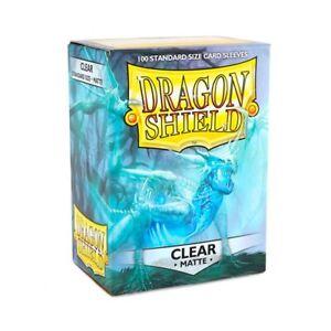 Dragon Shield Matte Clear Card Sleeves