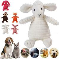 Funny Pet Cat Dog Puppy Chew Toys Squeaker Squeaky Plush Sound Giraffe Training