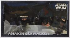 STAR WARS TOPPS EPISODE 1 SERIES 2 WIDEVISION RETAIL EMBOSSED FOIL E5 ANAKIN SKY