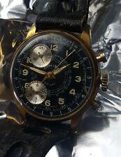 Cimier Sport Telemeter Panda Dial R.Lapanouse LTD Swiss Made - Vintage Watch