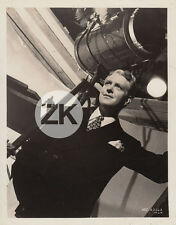 NELSON EDDY Opérette Projecteur Costume Fashion Tournage Musical MGM Photo 1930s