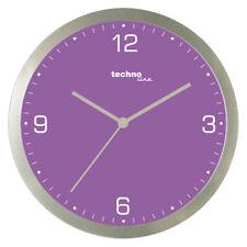 WT9000 technoline Quarzwanduhr violett