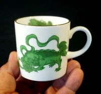 Beautiful Wedgwood Chinese Tigers Demitasse Cup