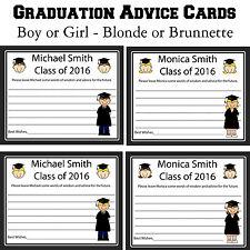 24 Graduation Advice Cards  - High School Graduation - College Graduation