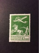 Denmark 1925 Air mail Stamp 10 øre MLH