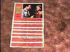 SHORTCUT TO HELL  LOBBY CARD SET '57 FILM NOIR