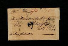 FALMOUTH England to Philadelphia Quaker Date (12. 3mo. 1773) to Israel Pemberton