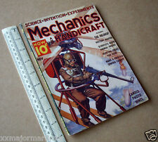 "1938 Mechanics & Handicraft USA Pulp Science Hobbies Mag The ""Helihop"" Cover Art"