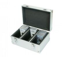 MALETIN aluminio para 30 cápsulas SLABS. Tamaño 245x180x125mm.