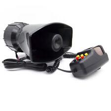12V 100W Car Truck Electric Alarm Air Horn Siren Speaker 7 Sound Tone With Mic