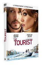 DVD *** THE TOURIST *** Johnny Deep, Angelina Jolie, ... ( neuf sous blister )