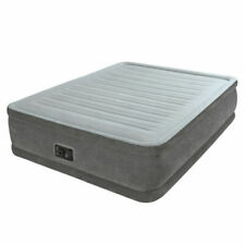 Intex Comfort Plush Colchón Hinchable 152 x 203 x 46cm - Gris