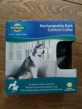 Rechargeable Dog Bark Control Collar 8 lb+ by PetSafe static correction