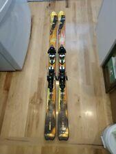 Salomon Scream Hot 165 cm Skis Salomon Bindings