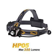 Fenix HP05 Grey Cree XP-G R5 LED + Red Light LED Headlamp Headlight Flashlight