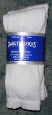 12 pair of Mens White Diabetic Crew Socks sz  10-13 NWT