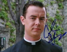 COLIN HANKS signed MAD MEN PRIEST 8X10 COLOR PHOTO W/PROOF!!!!!!!
