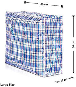 Large Reusable Foldable Bags Perfect For Laundry Storage Moving Shopping