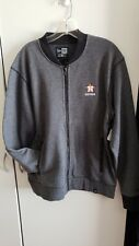 🔥🔥 OFFICIAL HOUSTON ASTROS MLB NEW ERA ZIP JACKET MENS LARGE GRAY New⚾️⚾️