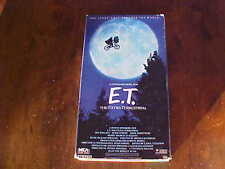 E.T. The Extra-Terrestrial (VHS) with Drew Barrymore - Spielberg Film