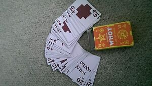 New Vintage whot card game