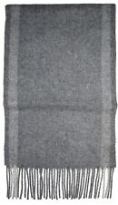 HUGO BOSS Black Albarello- 3  Scarf In Grey  BRAND NEW