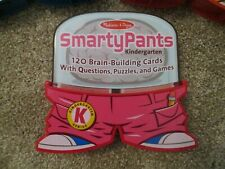 Melissa & Doug SmartyPants Kindergarten quiz and game cards, Euc