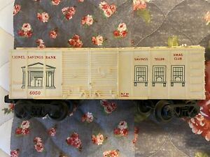 Lionel 6050 Savings bank Box car
