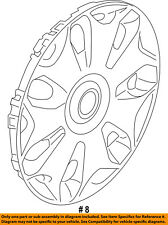 FORD OEM 14-18 Transit Connect Wheels-Wheel Cover DT1Z1130C