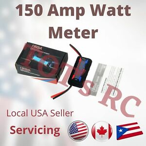 150AMP WATT METER for RC Hobby or Solar - 12 AWG WIRE ****Factory Closeout****