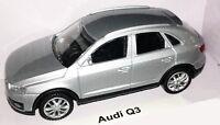RASTAR MODELLAUTO - AUDI Q3, Silber Metallic - 1:43 - NEU & OVP