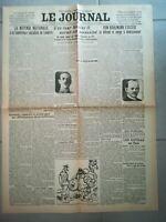 Fac similé Journal - LE JOURNAL 27 JUIN 1918