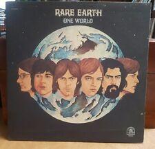 RARE EARTH ONE WORLD LP 1971 RARE EARTH GATEFOLD