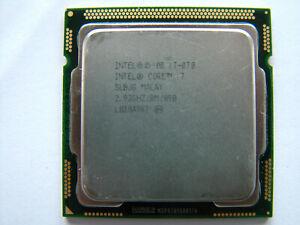 Intel Core i7-870  4 x 2.93GHz  8MB  LGA1156 CPU Prozessor