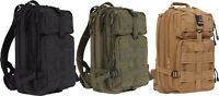 Canvas Medium Transport Backpack MOLLE Military Assault Pack Bag