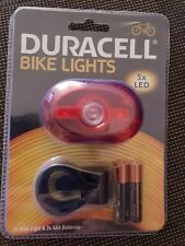 Duracell BIK-B03RDU 5 LED Rear Bicycle Light
