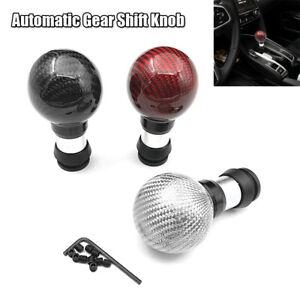 Universal Automatic Auto Car Handball Gear Shift Knob Shifter Lever Cover Button